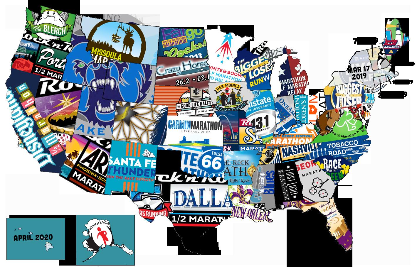 50 States Map