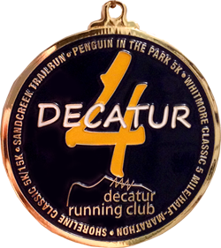 Decatur IL Grand Slam Medal