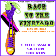 Race to the Vineyard Logo JWA