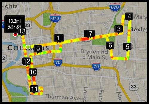 Columbus Ohio Half Marathon Recap  Fat At The Finish